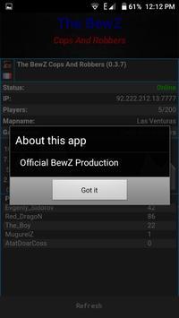 BewZ Cops And Robbers apk screenshot