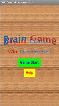 Brain Game(Win a Chimpanzee) poster