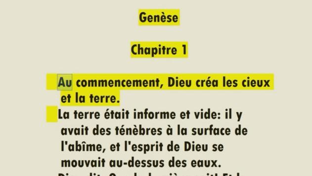 Audio French Bible - La Bible en audio screenshot 2