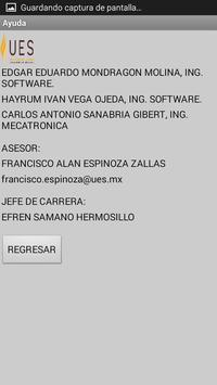 ARAÑA UES screenshot 1