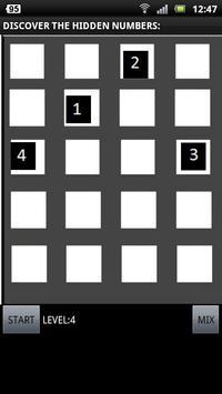 MEMORY NUMBERS - NOW FOR FREE! apk screenshot