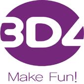 3D4 icon