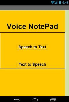 Voice MemoPad apk screenshot