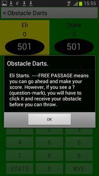 Obstacle Darts apk screenshot
