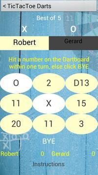 Darts TicTacToe apk screenshot