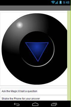 Magic 8 Ball Future Teller screenshot 1