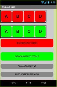 Costel App SMS screenshot 1