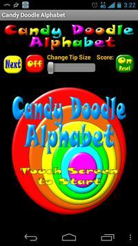 Candy Doodle Alphabet apk screenshot