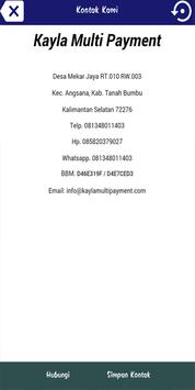 Kayla Multi Payment apk screenshot