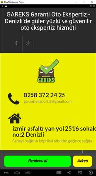 GAREKS Garanti Oto Ekspertiz Denizli poster