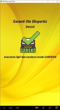 GAREKS Garanti Oto Ekspertiz Denizli screenshot 1