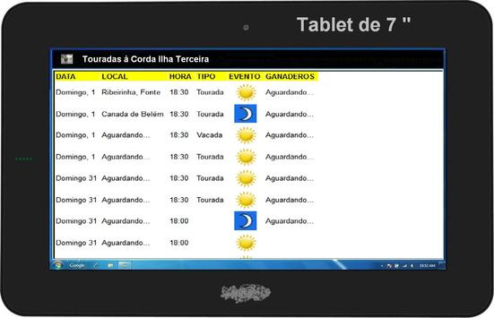 Touradas à Corda na Terceira apk screenshot