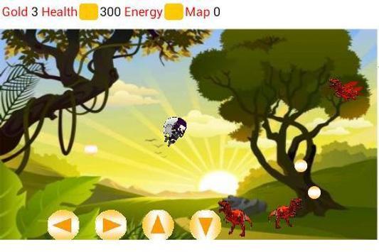 Ninja Kid in Jurassic Jungle screenshot 1