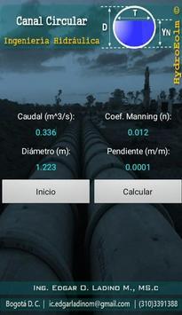 Diseño de Canales Hidráulicos HydroEolm تصوير الشاشة 3
