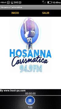 Radio Hosanna Carismática screenshot 1