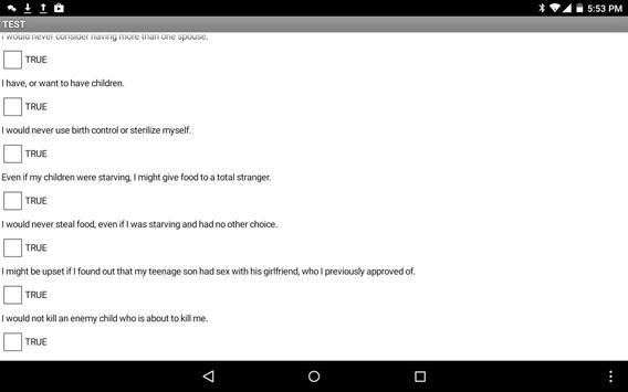 Comparative Memeplex Analyzer apk screenshot