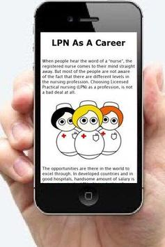Online LPN Programs Info apk screenshot
