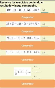 Matemáticas Percatic4.1 screenshot 2