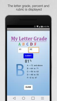 My Letter Grade apk screenshot