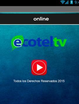 Ecotel TV poster