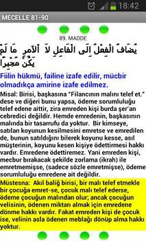 MECELLE 100 TEMEL KAİDE apk screenshot