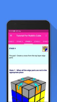 Tutorial For Rubik's Cube screenshot 4