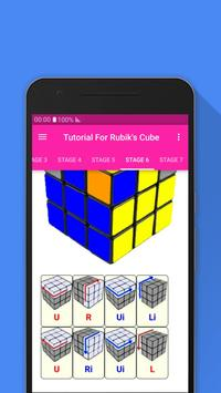 Tutorial For Rubik's Cube screenshot 5