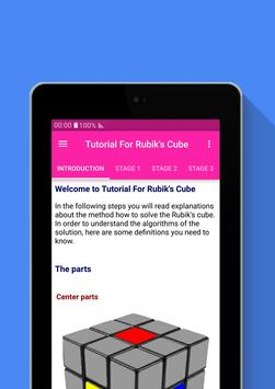 Tutorial For Rubik's Cube screenshot 6
