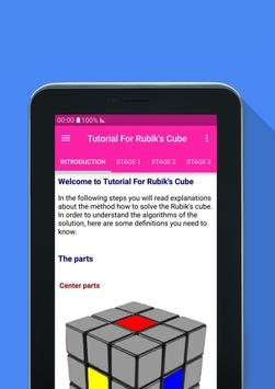 Tutorial For Rubik's Cube screenshot 7