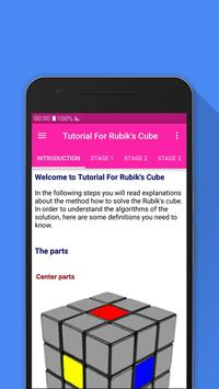 Tutorial For Rubik's Cube poster