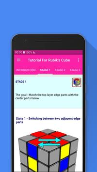 Tutorial For Rubik's Cube screenshot 1