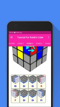 Tutorial For Rubik's Cube screenshot 3