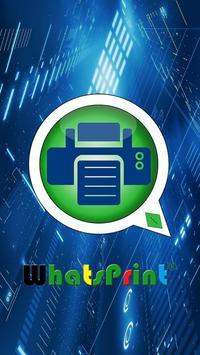WhatsPrint® poster