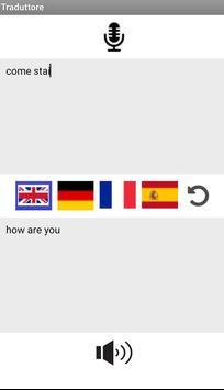 Traduttore Multilingua screenshot 1
