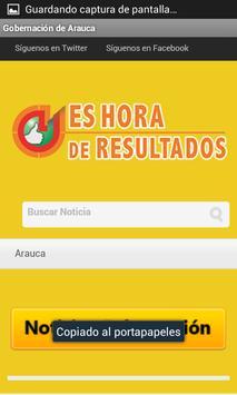 Gobernación de Arauca apk screenshot