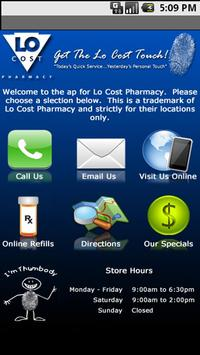 Lo Cost Pharmacy poster