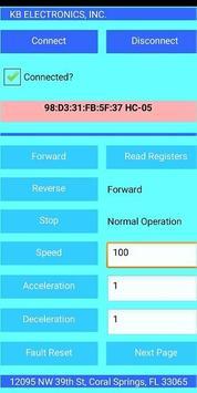 Bluetooth Motor Controller poster