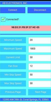 Bluetooth Motor Controller screenshot 1