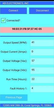 Bluetooth Motor Controller screenshot 2