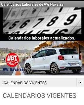 UGT en VW Navarra apk screenshot