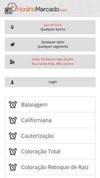 Horário Marcado screenshot 1