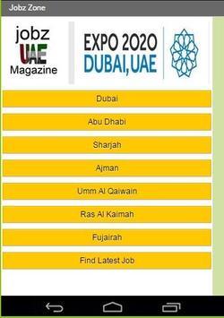 UAE JOBZ MAGAZINE poster