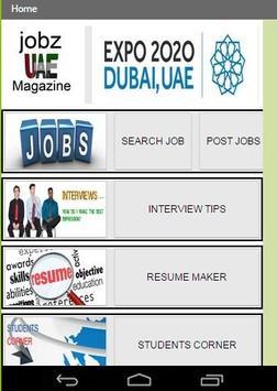 UAE JOBZ MAGAZINE apk screenshot