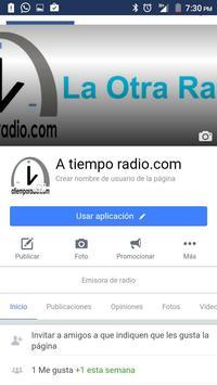 a tiempo radio apk screenshot