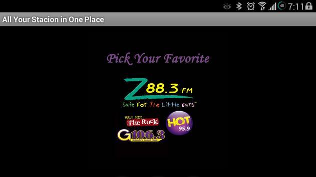 Z88.3 Live apk screenshot