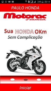 Paulo Honda Motorac poster