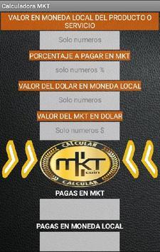 Calculadora MKTcoin screenshot 1