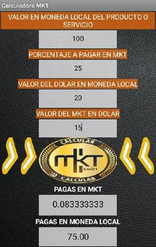 Calculadora MKTcoin screenshot 2