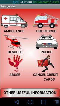 UK  Emergency+Information poster