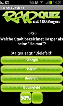 RapQuiz screenshot 3